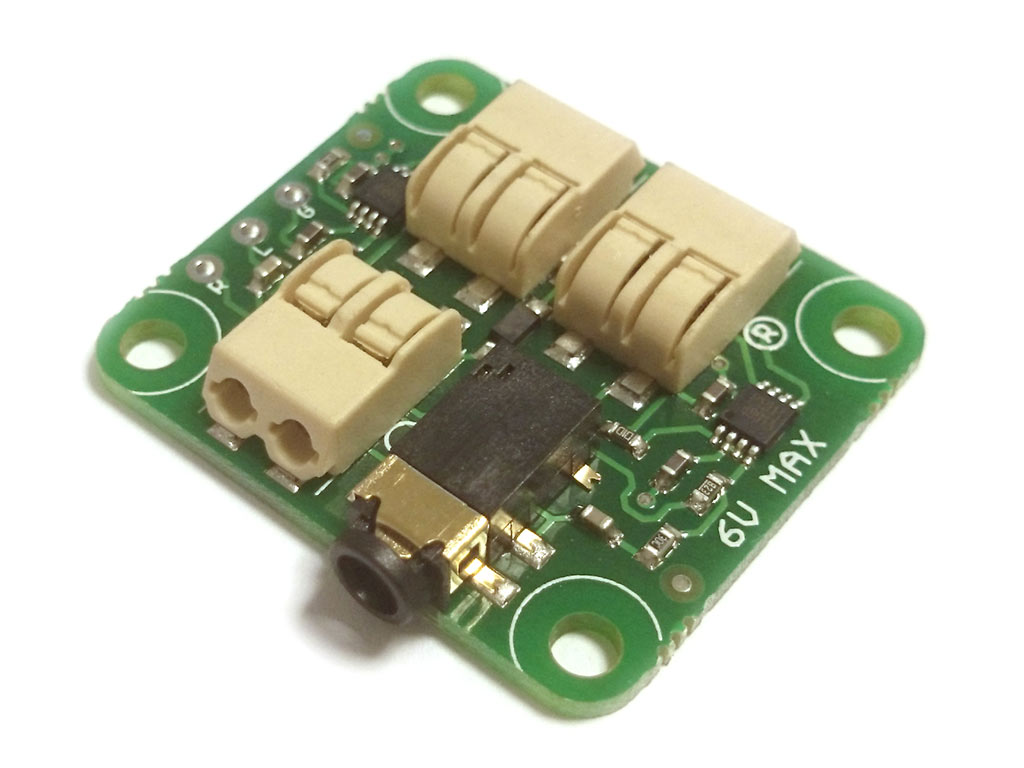 Stereo Amplifier Board 3v 6v Assembled Kit Mindsets Online Circuit Design